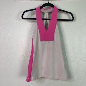 Lululemon Workout Pink Tank Top